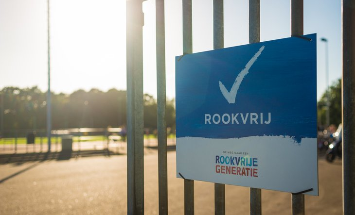 Rookvrije speellocatie